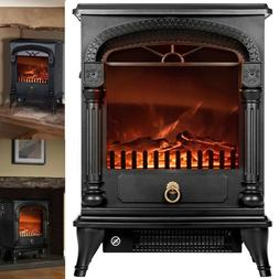 """20"""" Infrared Quartz Electric Fireplace Insert Stove Heater 3"""