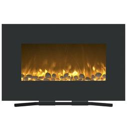 Northwest 80-WSG03 Fireplace Color Changing Wall Mount Floor