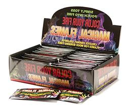 Magical Flames 12-pack: TWICE THE COLOR, half the price! Cre