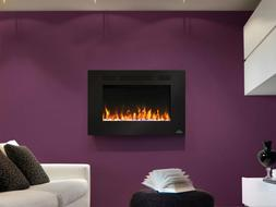 Napoleon 32-In Allure Wall Mount Electric Fireplace