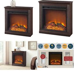 Ameriwood Home Bruxton Electric Fireplace, Cherry