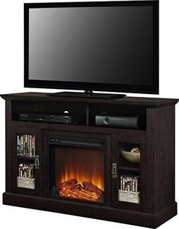 Ameriwood Home Carver Electric Fireplace TV Stand for TVs up
