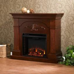 Southern Enterprises Chamberlain Electric Fireplace with Rem