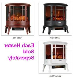 Free Standing Electric 1500W Fireplace Heater, Realistic Woo
