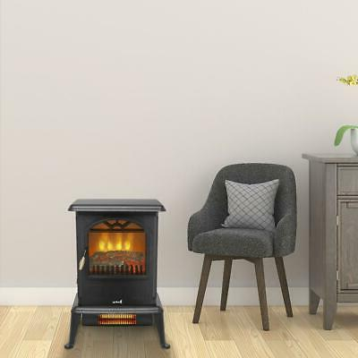 1500W Portable Fireplace Space Heater Stove