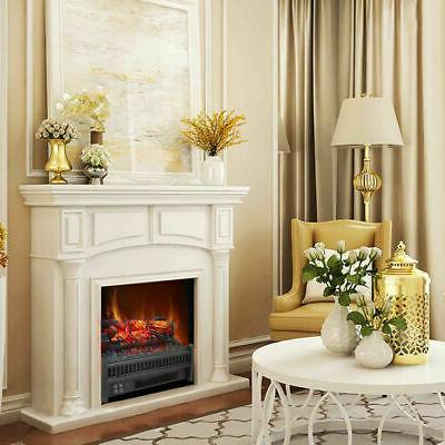 1400W Electric Fireplace Realistic Flame
