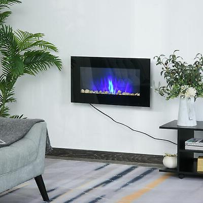 1500W Wall Mounted With LED Flame, 7