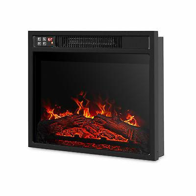 18 embedded electric fireplace insert remote heater