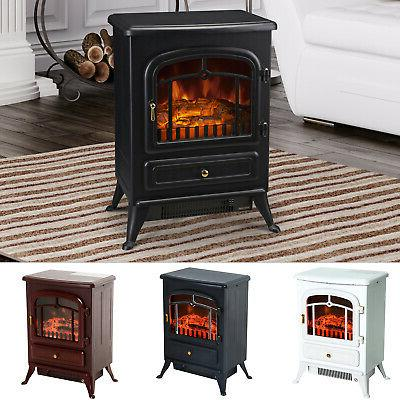 750 1500w portable electric fireplace stove heater