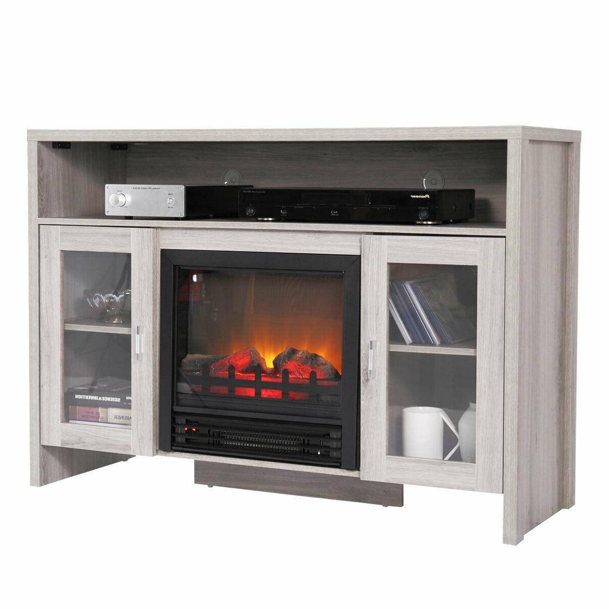 Fireplace TV Storage Media Heater for TVS up to