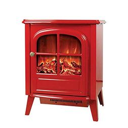 YXIUER 2000W Portable Electric Fireplace Stove - 54cm Tall F