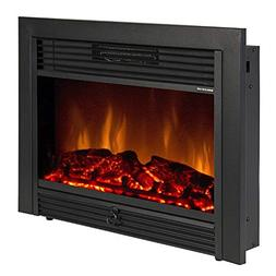 """KUPPET 28.5"""" Electric Fireplace Alexa Connectivity, App Cont"""